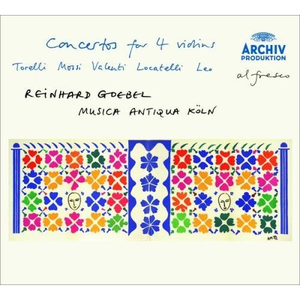 Torelli / Mossi / Valentini / Locatelli / Leo: Concertos for 4 violins