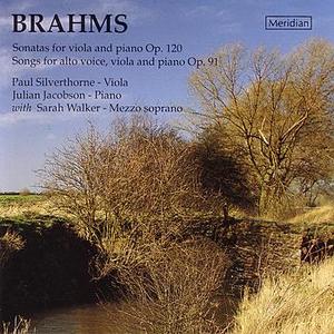 Brahms: Viola Sonatas and Songs with Viola