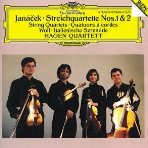 Janácek: String Quartets Nos.1 & 2 / Wolf: Italian Serenade