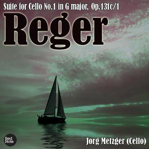 Reger: Suite for Cello No.1 in G major, Op.131c/1